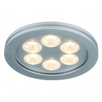 SLV EYEDOWN LED 6x1W downlight